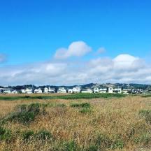 glass beach houses